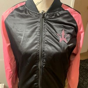 Jefree Star pink n black jacket.